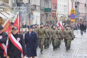 100. rocznica złożenia przysięgi przez i Batalion Pogranicza w Kaliszu