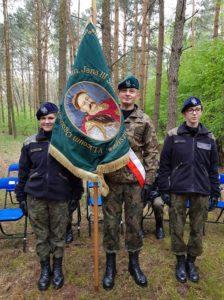 Uroczystości w Lesie Winiarskim