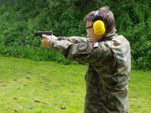 Szkolenie strzeleckie dla pierwszaków