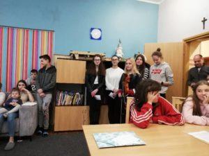 Spotkanie z podopiecznymi w Domu Dziecka
