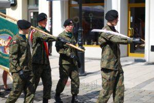 O klasach wojskowych w TVP Poznań