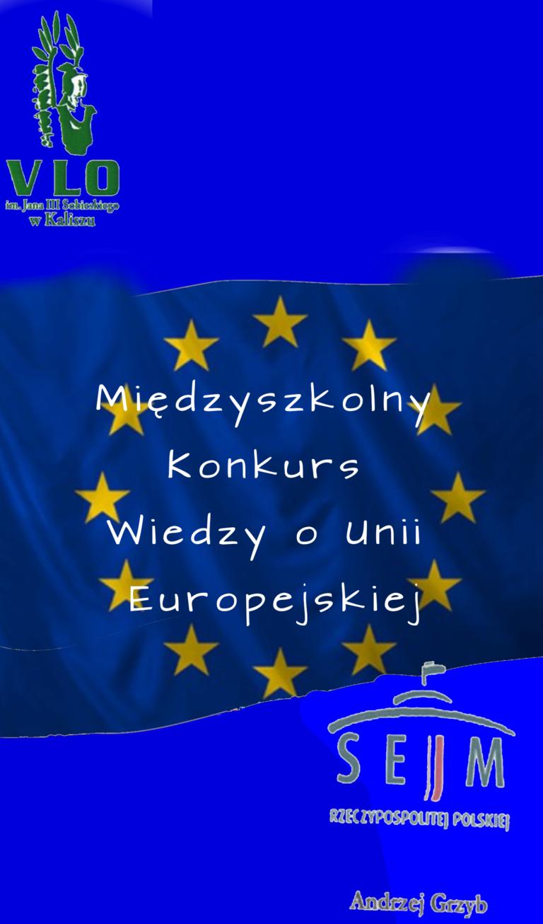 """Rozstrzygnięcie konkursu """"Unia Europejska bez tajemnic!"""""""